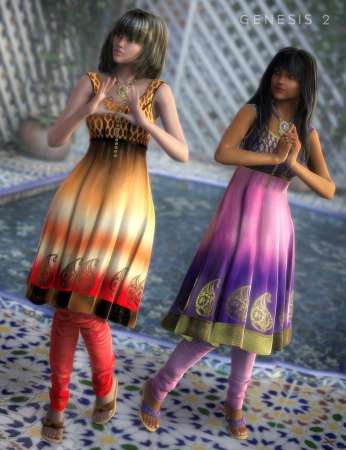 Chandrani Outfit Textures