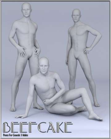 Beefcake Poses for Genesis 3 Male